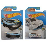 Hot Wheels 2016 HW Snow Stormers Hover Storm & 2012 Ford Fiesta