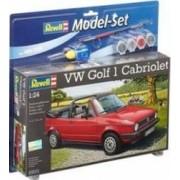 Macheta Revell Model Set VW Golf 1 Cabrio
