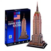 Cubic Fun C704H - 3D Puzzle Empire State Building New York Usa