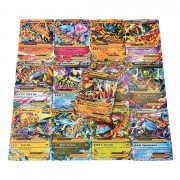 18pcs Ex Carte Mega Set Poke Cartes Charizard Blastoise Moltres
