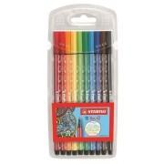 Filctoll készlet 10db-os, 1 mm, Stabilo Pen 68