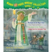 Magic Tree House Collection, Books 41-44: Moonlight on the Magic Flute/A Good Night for Ghosts/Leprechaun in Late Winter/A Ghost Tale for Christmas Ti