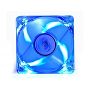 Ventilator Deep Cool Xfan 80L Clear 80mm LED fan