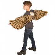 Forum Plush Bald Eagle Child Wings Costume Brown