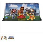 The Lion King - Lion Guard Birthday Cake Topper Figure Set Featuring Kion, Simba, Fuli, Timon with Pumbaa, Beshte with Ono Bunga and Other Decorative Themed Accessories - Includes All Items Shown by Lion Guard