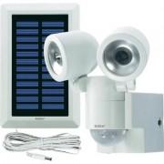 Napelemes LED-es fényszóró mozgásérzékelővel, fehér, GEV (576740)