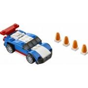 Set Constructie Lego Creator Masina Albastra De Curse