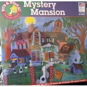 Mystery Mansion Rub and Reveal Magic Ink Puzzle - 60 Pieces