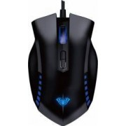 Mouse Optic AULA Manum SI-980 Iluminat Negru