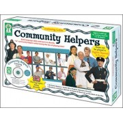 Community Helpers Listening Lotto Game