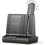 Casca Bluetooth Plantronics Headset SAVI W745 3 in 1 Convertible - Black