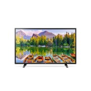 "LG 43LH500T, 43"" LED Full HD TV, 1920x1080, DVB-T2/C, 200PMI, USB, HDMI, CI, Scart, 2 Pole Stand, Metalic/Black"