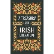 A Treasury of Irish Literature (Barnes & Noble Omnibus Leatherbound Classics) by Various Authors ..