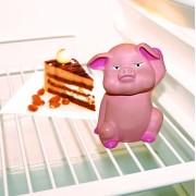 Avertizor frigider deschis