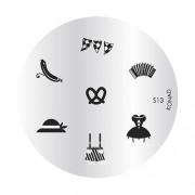 KONAD stamp plate S13 ' OKTOBERFEST '