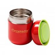 Clevamama étel termosz - rozsdamentes acél, csepegésmentes 250 ml