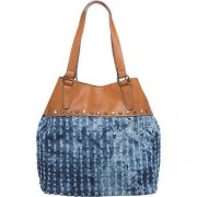 TOM TAILOR STACY Shopper blau Damen