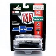 1967 Chevrolet Nova Ss (Frozen Black Pearl) * M2 Machines Auto Drivers Release 35 * Castline 2015 Special Edition 1:64 Scale Die Cast Vehicle ( R35 15 28 )