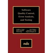 Software Quality Control, Error, Analysis by Judith A. Clapp