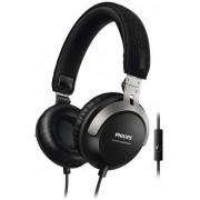 Casti Stereo Philips SHL3565BK, Microfon (Negru)
