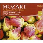 W. A. Mozart - Sonatas for Violin & Piano (0710357256226) (4 CD)