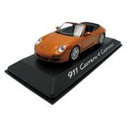 Minichamps - 02001618 - Porsche 911/997 Carrera 4 Cabrio - 2009 - Echelle 1/43 - Orange Métal