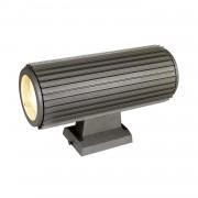 energie A++, Buitenlamp Gear II - aluminium zilverkleurig 2 lichtbronnen, Näve