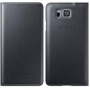 Husa tip carte Samsung EF-FG850BBEGWW neagra pentru telefonul Samsung Galaxy Alpha G850