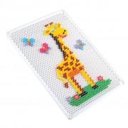Playgo Pegged Puzzle Set Peg-A-Mosaic A4 2070