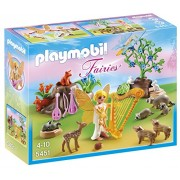 Playmobil Music Fairy with Woodland Creatures, Multi Color