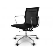 Chaise Eames Alu EA117 - Noir