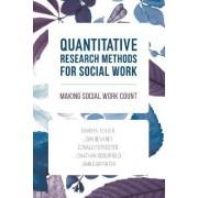 Quantitative Research Methods for Social Work by Barbra Teater