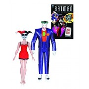 Dc Collectibles Batman Animated Series: The Joker & Harley Quinn Mad Love Book & Action Figure (2 Pack)