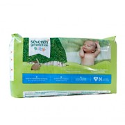 CHLORINE FREE DIAPERS (Newborn) 36 Diapers