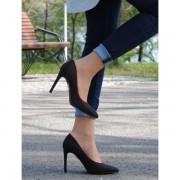 "Pantofi cu toc ,,BelloStore"" black edition"