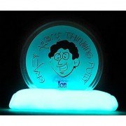 Crazy Aaron's Thinking Putty 3.2 Ounce Glow in the Dark Ion