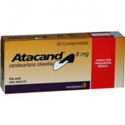Atacand 8mg c/ 30 Comprimidos
