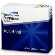 Purevision Multifocal Contact Lenses (6 lenses/box - 1 box)