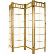 Paraván STILISTA 180 x 156 cm - světle hnědý