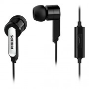 Philips SHE1405BK/94 In-Ear Headphone With Mic Imported Black Colour.