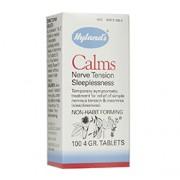 CALMS (Nerve Tension Sleeplessness) 100 Tablets