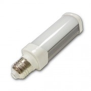 LED lámpa , égő , ufó , E27 foglalat , 6 Watt , természetes fehér