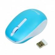 MSONIC mouse-ul optic fără fir MX707B 3D, 1000DPI, 2.4GHz, albastru și alb