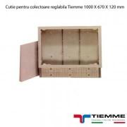 Cutie pentru colectoare reglabila Tiemme 1000 X 670 X 120 mm