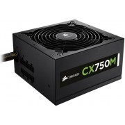 Sursa Corsair CX750M, 750W, 80 Plus Bronze (Semi-Modulara)
