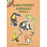 Rain Forest Animals Stickers by Nina Barbaresi