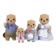 Epoch Sylvanian Families Sylvanian Family Doll Family Of Sea Otter Fs-07 (Japan Import)