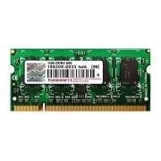 Transcend Mémoire RAM 1 Go DDR2 800 MHz TS128MSQ64V8U