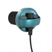 iFrogz Audio - Carbide IFCARE-TL0 Earbuds with Mic (Teal)