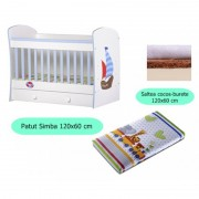 Set patut + salteluta Simba White Sea